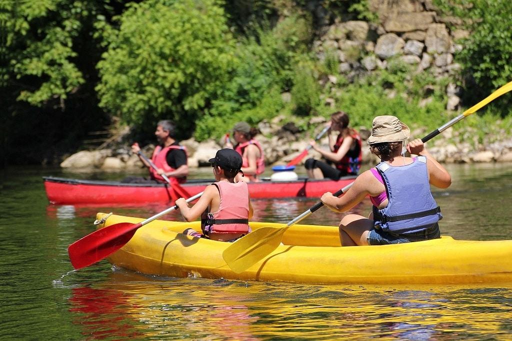 Où faire du canoë kayak ?
